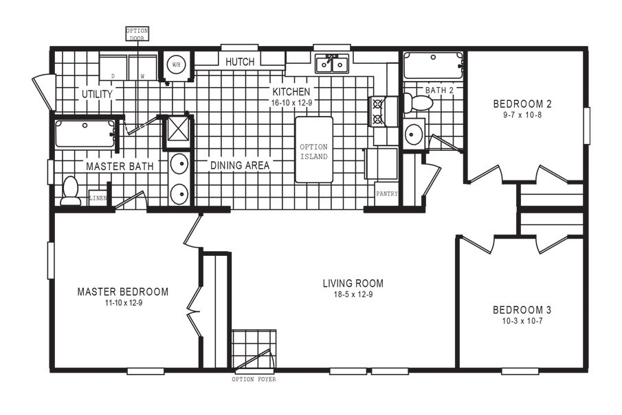 The 6110 COTTAGE 4428 Floor Plan
