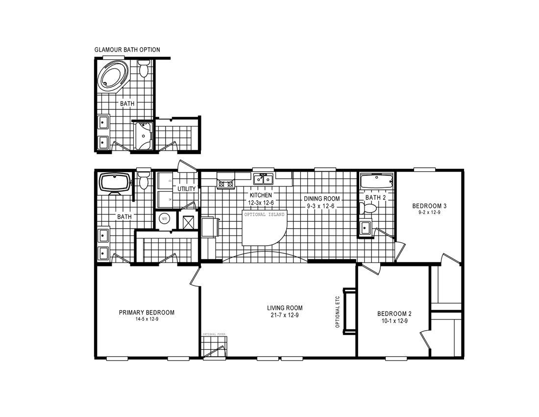 The 4603 ROCKETEER 3 5228 Floor Plan